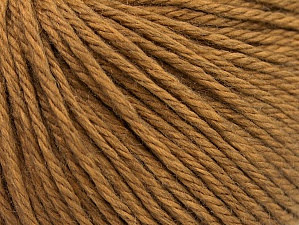 Fiber Content 50% Wool, 50% Acrylic, Light Brown, Brand ICE, fnt2-58345