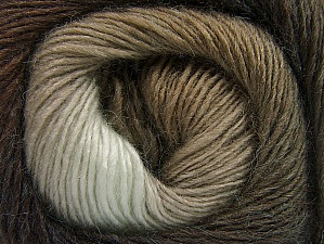 Fiber Content 60% Premium Acrylic, 20% Alpaca, 20% Wool, Brand ICE, Brown Shades, Yarn Thickness 2 Fine  Sport, Baby, fnt2-58396