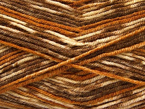 Fiber Content 75% Acrylic, 25% Wool, Brand ICE, Brown Shades, Yarn Thickness 3 Light  DK, Light, Worsted, fnt2-58423