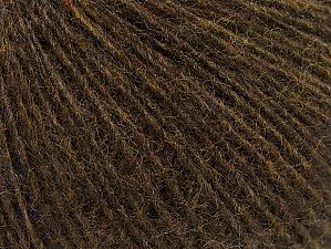 Fiber Content 55% Acrylic, 25% Alpaca, 20% Wool, Brand ICE, Brown, Yarn Thickness 2 Fine  Sport, Baby, fnt2-58488