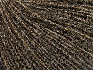 Fiber Content 55% Acrylic, 25% Alpaca, 20% Wool, Brand ICE, Dark Camel, Yarn Thickness 2 Fine  Sport, Baby, fnt2-58490