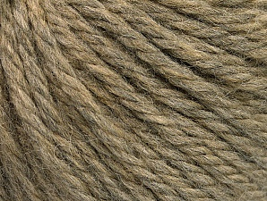 Fiber Content 60% Acrylic, 40% Wool, Brand ICE, Camel Melange, Yarn Thickness 6 SuperBulky  Bulky, Roving, fnt2-58567