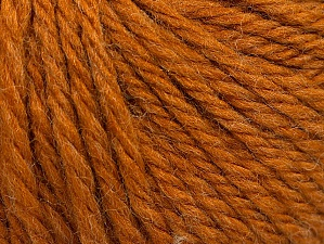 Fiber Content 60% Acrylic, 40% Wool, Brand ICE, Dark Gold, Yarn Thickness 6 SuperBulky  Bulky, Roving, fnt2-58570
