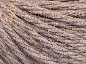 Fiber Content 60% Acrylic, 40% Wool, Lilac Melange, Brand ICE, Yarn Thickness 6 SuperBulky  Bulky, Roving, fnt2-58572