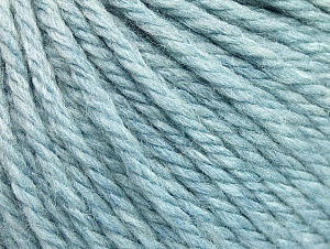 Fiber Content 60% Acrylic, 40% Wool, Brand ICE, Baby Blue, Yarn Thickness 6 SuperBulky  Bulky, Roving, fnt2-58573