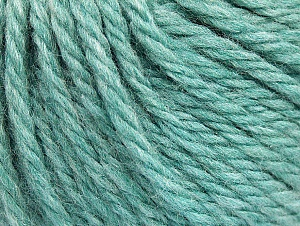 Fiber Content 60% Acrylic, 40% Wool, Light Turquoise, Brand ICE, Yarn Thickness 6 SuperBulky  Bulky, Roving, fnt2-58574