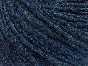 Fiber Content 55% Acrylic, 45% Wool, Navy, Brand ICE, Yarn Thickness 4 Medium  Worsted, Afghan, Aran, fnt2-58592