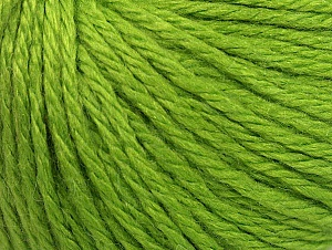 Fiber Content 40% Merino Wool, 40% Acrylic, 20% Polyamide, Brand ICE, Green, Yarn Thickness 3 Light  DK, Light, Worsted, fnt2-58669