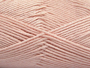 Fiber Content 50% Acrylic, 50% Bamboo, Powder Pink, Brand ICE, Yarn Thickness 2 Fine  Sport, Baby, fnt2-58695