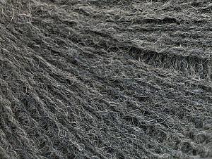 Fiber Content 50% Acrylic, 25% Alpaca, 25% Merino Wool, Brand ICE, Grey, Yarn Thickness 2 Fine  Sport, Baby, fnt2-58835