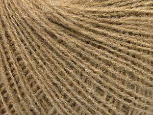 Fiber Content 50% Wool, 50% Acrylic, Brand ICE, Camel, Yarn Thickness 2 Fine  Sport, Baby, fnt2-58839