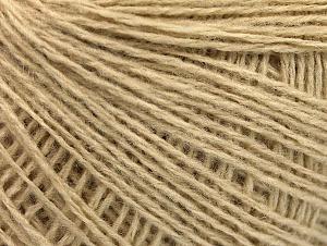 Fiber Content 50% Wool, 50% Acrylic, Light Beige, Brand ICE, Yarn Thickness 2 Fine  Sport, Baby, fnt2-58863