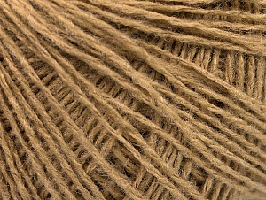 Fiber Content 50% Wool, 50% Acrylic, Brand ICE, Cafe Latte, Yarn Thickness 2 Fine  Sport, Baby, fnt2-58866