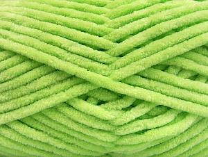 Fiber Content 100% Micro Fiber, Light Green, Brand ICE, Yarn Thickness 4 Medium  Worsted, Afghan, Aran, fnt2-58884