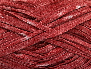 Fiber Content 50% Viscose, 50% Polyester, Red Melange, Brand ICE, fnt2-58897
