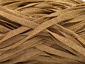 Fiber Content 82% Viscose, 18% Polyester, Light Brown, Brand ICE, Yarn Thickness 5 Bulky  Chunky, Craft, Rug, fnt2-58899