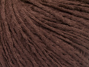Fiber Content 50% Acrylic, 50% Wool, Brand ICE, Brown, Yarn Thickness 3 Light  DK, Light, Worsted, fnt2-58928
