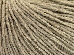 Fiber Content 50% Acrylic, 50% Wool, Brand ICE, Beige, Yarn Thickness 3 Light  DK, Light, Worsted, fnt2-58934