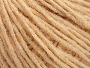 Fiber Content 50% Merino Wool, 25% Alpaca, 25% Acrylic, Light Salmon, Brand ICE, Yarn Thickness 4 Medium  Worsted, Afghan, Aran, fnt2-59039