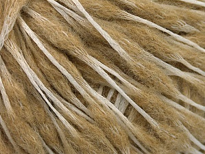 Fiber Content 50% Wool, 50% Polyamide, Brand ICE, Cream, Beige, Yarn Thickness 3 Light  DK, Light, Worsted, fnt2-59043