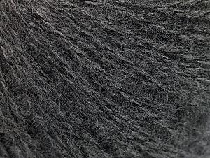 Fiber Content 55% Acrylic, 5% Polyester, 15% Alpaca, 15% Wool, 10% Viscose, Brand ICE, Dark Grey, Yarn Thickness 2 Fine  Sport, Baby, fnt2-59205
