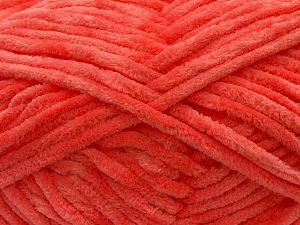 Fiber Content 100% Micro Fiber, Light Salmon, Brand ICE, Yarn Thickness 4 Medium  Worsted, Afghan, Aran, fnt2-59314
