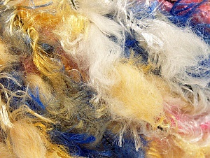 Fiber Content 100% Polyamide, Yellow, White, Pink, Brand ICE, Blue, Yarn Thickness 6 SuperBulky  Bulky, Roving, fnt2-59708