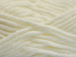 Fiber Content 100% Acrylic, White, Brand ICE, Yarn Thickness 6 SuperBulky  Bulky, Roving, fnt2-59731