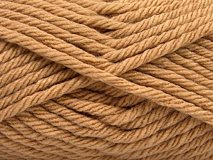 Fiber Content 100% Acrylic, Light Brown, Brand ICE, Yarn Thickness 6 SuperBulky  Bulky, Roving, fnt2-59736