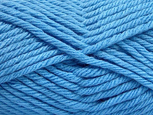 Fiber Content 100% Acrylic, Brand ICE, Blue, Yarn Thickness 6 SuperBulky  Bulky, Roving, fnt2-59744
