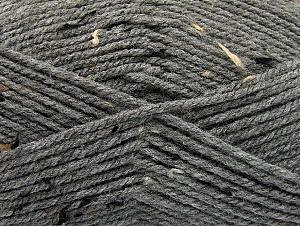 Fiber Content 95% Acrylic, 5% Viscose, Brand Ice Yarns, Grey, Brown Shades, Black, Yarn Thickness 4 Medium Worsted, Afghan, Aran, fnt2-59764