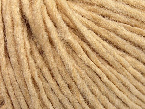 Fiber Content 50% Acrylic, 50% Wool, Brand ICE, Dark Cream, Yarn Thickness 4 Medium  Worsted, Afghan, Aran, fnt2-59800