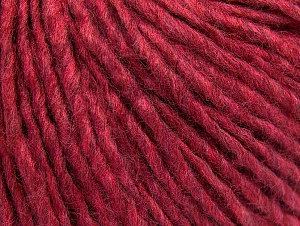 Fiber Content 50% Acrylic, 50% Wool, Brand ICE, Fuchsia Melange, Yarn Thickness 4 Medium  Worsted, Afghan, Aran, fnt2-59828