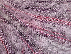 Fiber Content 37% Kid Mohair, 35% Acrylic, 28% Polyamide, Lilac Shades, Brand ICE, Yarn Thickness 1 SuperFine  Sock, Fingering, Baby, fnt2-59966