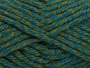 Fiber Content 100% Acrylic, Brand ICE, Green Shades, Yarn Thickness 6 SuperBulky  Bulky, Roving, fnt2-60000