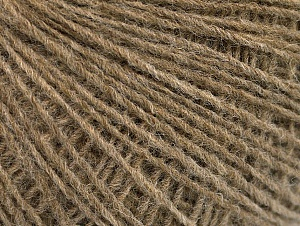 Fiber Content 50% Wool, 50% Acrylic, Brand ICE, Camel Melange, Yarn Thickness 2 Fine  Sport, Baby, fnt2-60009