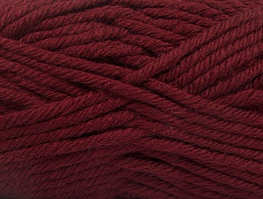 Fiber Content 100% Acrylic, Brand ICE, Dark Burgundy, Yarn Thickness 6 SuperBulky  Bulky, Roving, fnt2-60095
