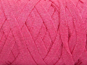 Fiber Content 100% Recycled Cotton, Pink, Brand ICE, Yarn Thickness 6 SuperBulky  Bulky, Roving, fnt2-60127
