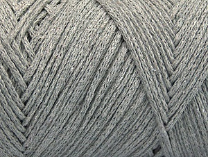 Fiber Content 100% Cotton, Light Grey, Brand ICE, Yarn Thickness 5 Bulky  Chunky, Craft, Rug, fnt2-60145