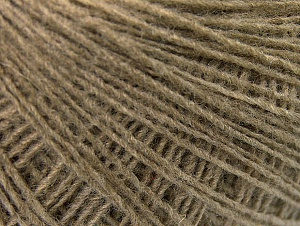 Fiber Content 50% Wool, 50% Acrylic, Brand ICE, Beige, Yarn Thickness 2 Fine  Sport, Baby, fnt2-60183