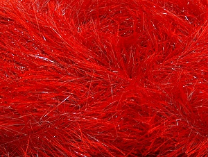 Fiber Content 80% Polyester, 20% Lurex, Red, Brand ICE, Yarn Thickness 5 Bulky  Chunky, Craft, Rug, fnt2-60293