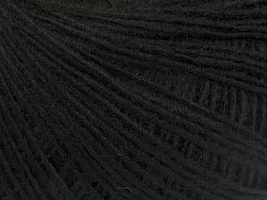 Fiber Content 100% Acrylic, Brand ICE, Black, Yarn Thickness 2 Fine  Sport, Baby, fnt2-60334