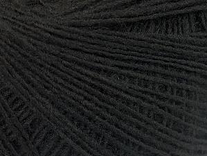 Fiber Content 100% Acrylic, Brand ICE, Black, Yarn Thickness 2 Fine  Sport, Baby, fnt2-60335