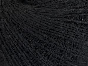 Fiber Content 67% Cotton, 33% Polyester, Brand ICE, Black, fnt2-60837