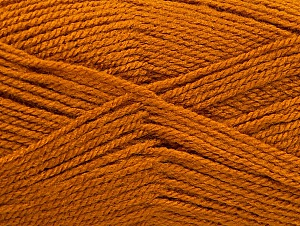 Fiber Content 100% Acrylic, Brand ICE, Dark Gold, Yarn Thickness 3 Light  DK, Light, Worsted, fnt2-60848