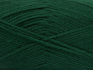 Fiber Content 100% Acrylic, Brand ICE, Dark Green, Yarn Thickness 3 Light  DK, Light, Worsted, fnt2-60851