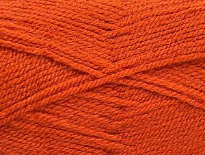 Fiber Content 100% Acrylic, Orange, Brand ICE, Yarn Thickness 3 Light  DK, Light, Worsted, fnt2-60853