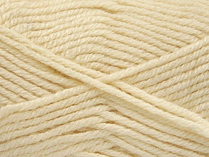 Fiber Content 50% Acrylic, 25% Wool, 25% Alpaca, Light Cream, Brand ICE, Yarn Thickness 5 Bulky  Chunky, Craft, Rug, fnt2-60856