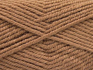 Fiber Content 50% Acrylic, 25% Alpaca, 25% Wool, Brand ICE, Camel, Yarn Thickness 5 Bulky  Chunky, Craft, Rug, fnt2-60859