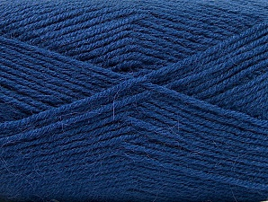 Fiber Content 50% Acrylic, 25% Alpaca, 25% Wool, Brand ICE, Blue, Yarn Thickness 3 Light  DK, Light, Worsted, fnt2-60901